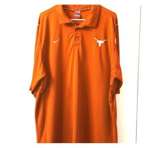 Texas Longhorns NikeFit polo